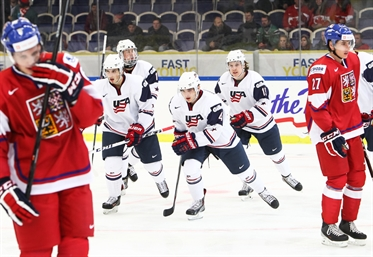 U.S. too much for Czechs